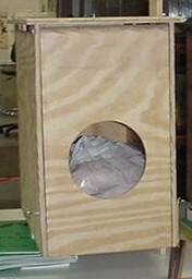 PLYWOOD BARN OWL BOX