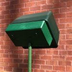 Repeller Mounting Block Angled Up