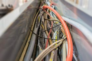 Wiring damaged by rodents