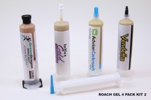ROACH GEL 4 PACK KIT