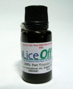 Lice Shampoo Additive