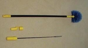 Webster 5'-10' Handle W/Head & Spinner